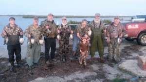 1/10/14 - Coastal Duck Hunt - Group