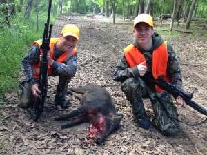 4/06-4/08/14 - Hog Hunt - Tom Lieb's sons
